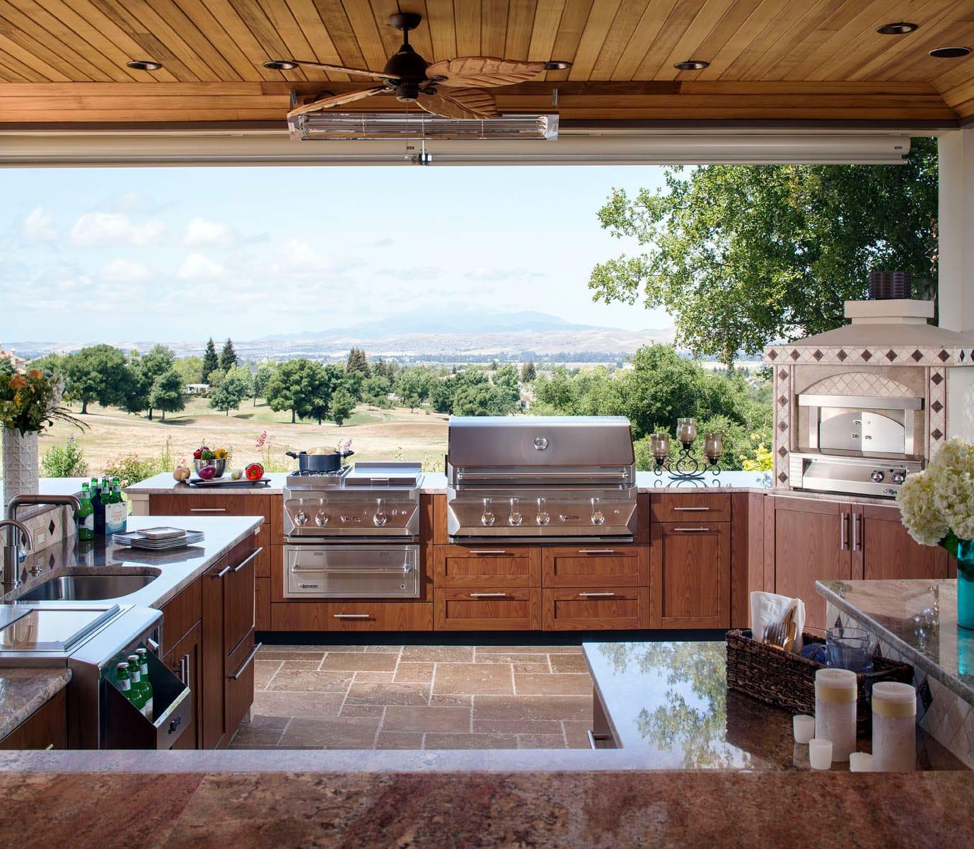 Outdoor Kitchen Cabinets Villa Terrazza Patio Furniture Sonoma 707 933 8286